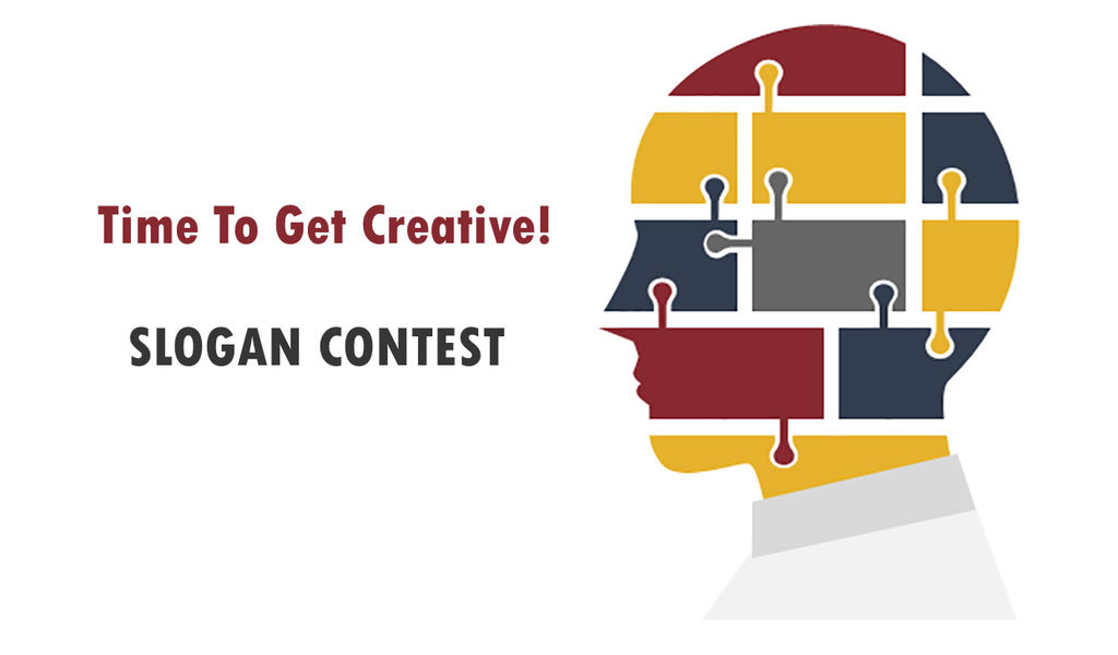 "Graphic of Head with Title ""Time to Get Creative"""